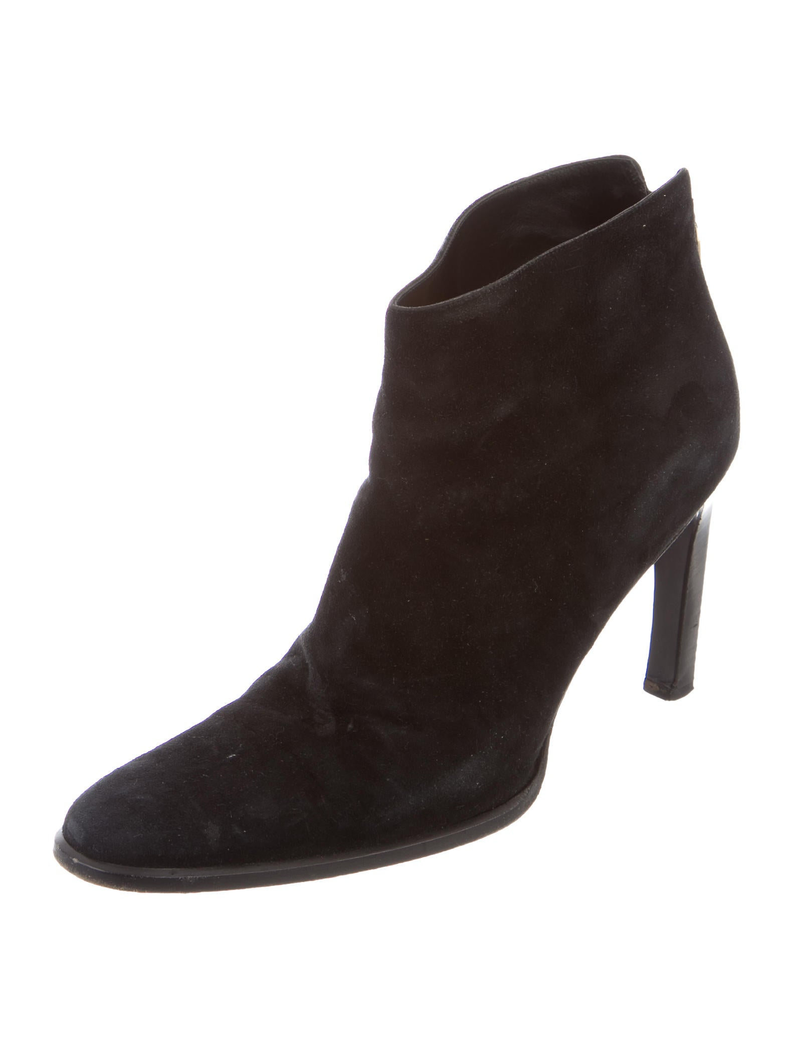 gucci suede toe ankle boots shoes guc131435