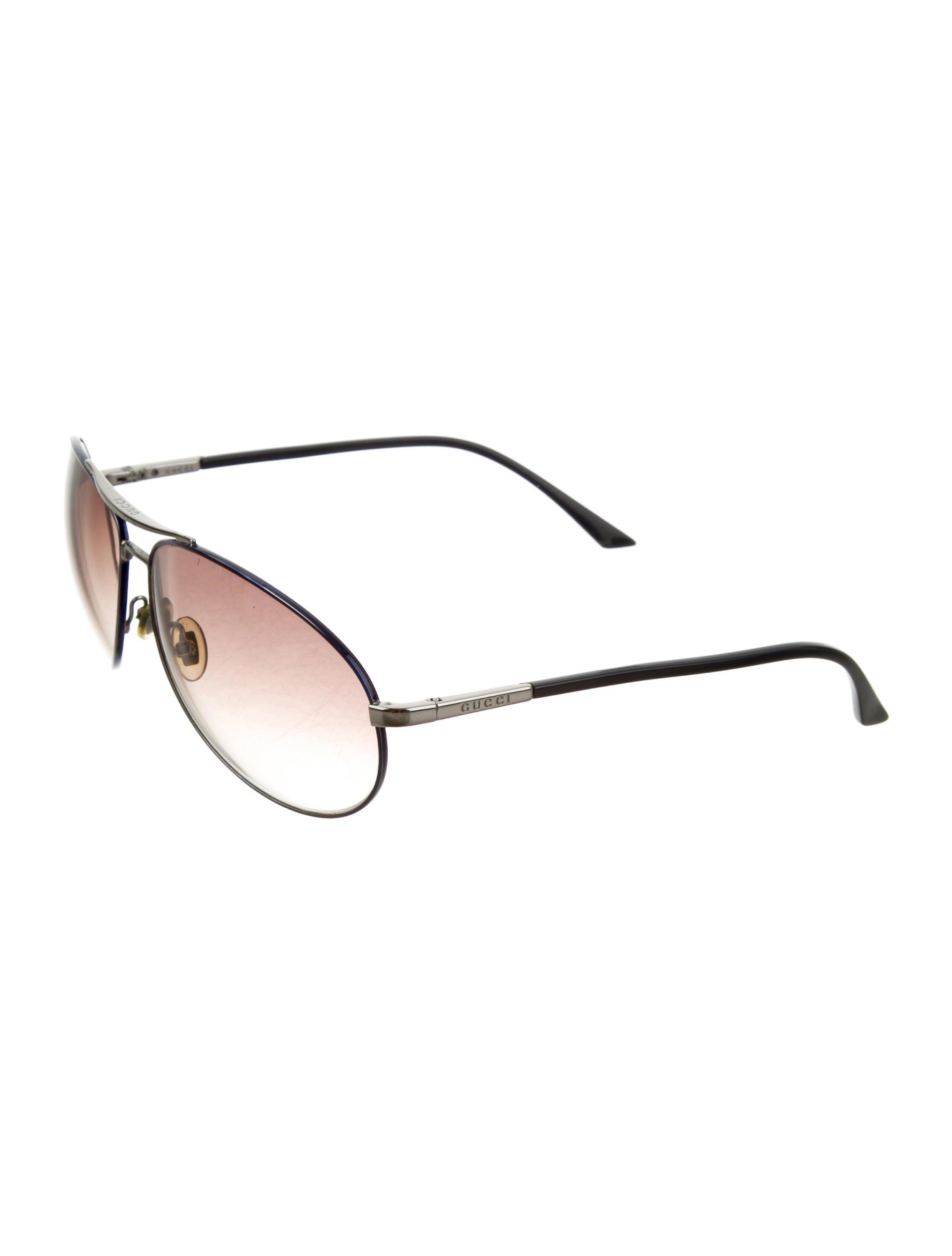 bbc1860afd Gucci Aviator Sunglasses - Accessories - GUC131838
