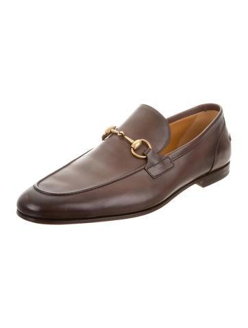 Leather Horsebit Loafers