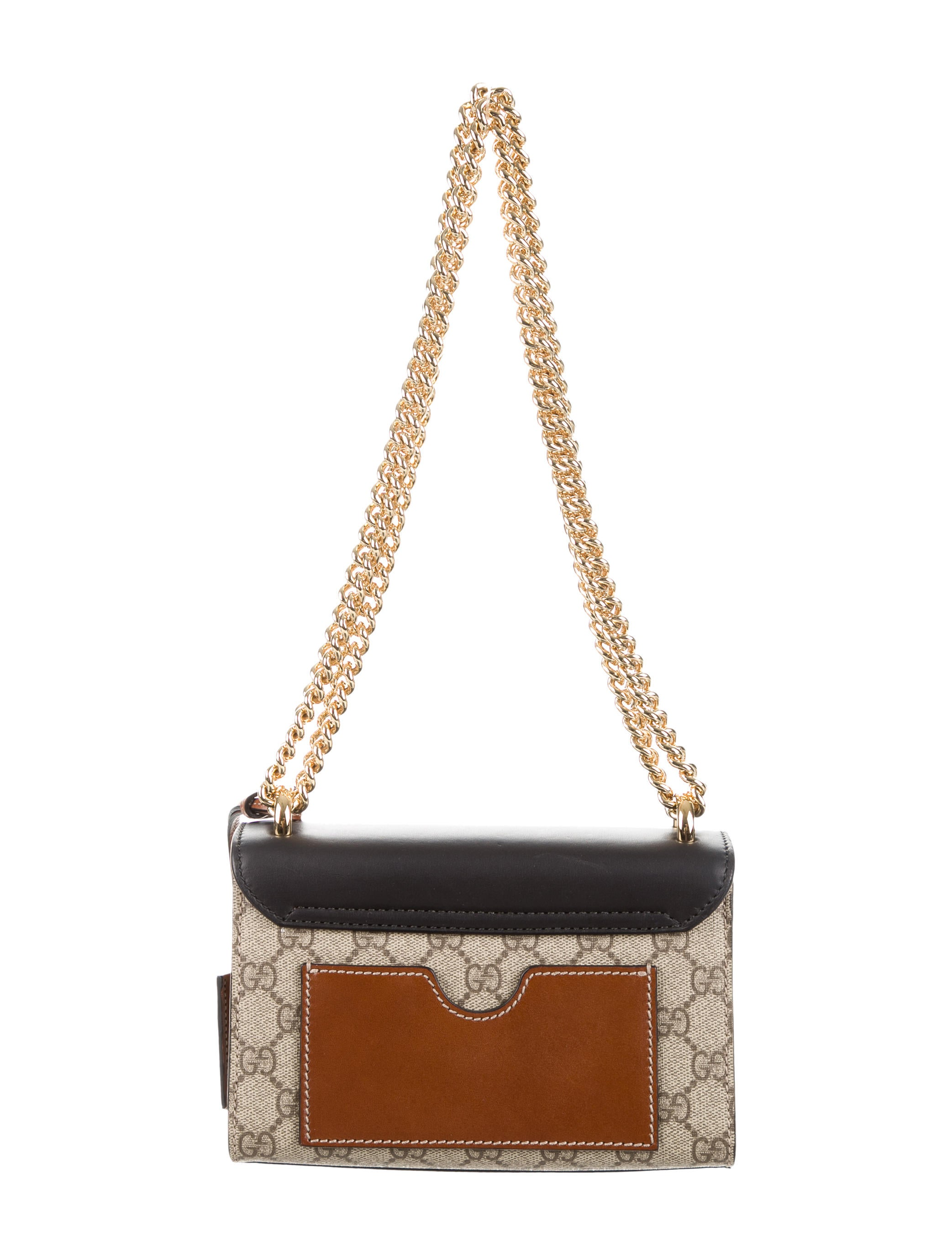Gucci Padlock Gg Supreme Shoulder Bag Handbags