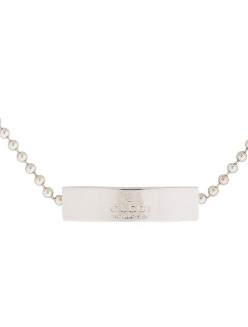 1ad96d296 Gucci Tag Ball Chain Choker Necklace - Necklaces - GUC132295 | The ...