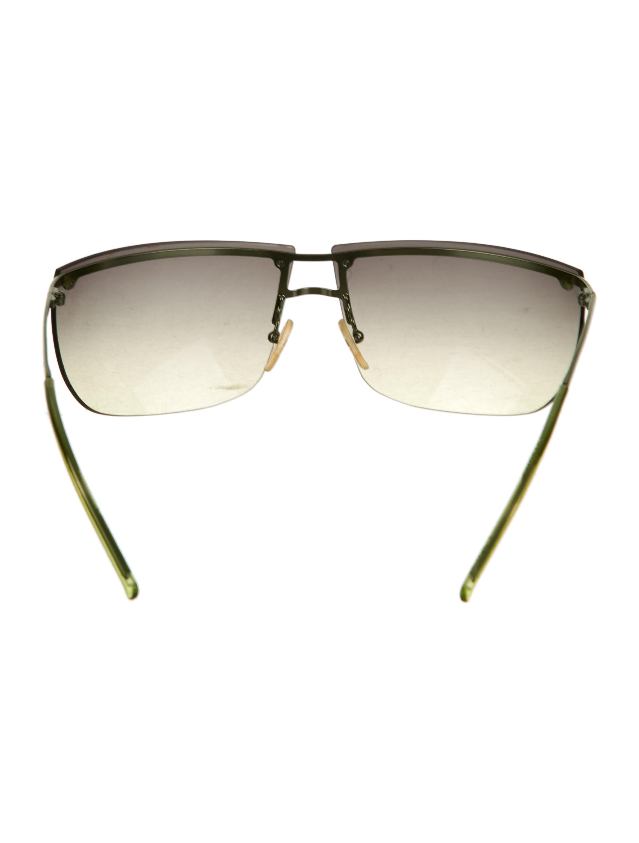 Rimless Glasses With Changeable Arms : Gucci Rimless Shield Sunglasses - Accessories - GUC132354 ...