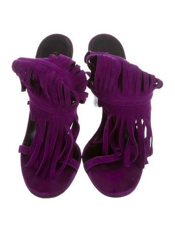 Becky Fringe Sandals