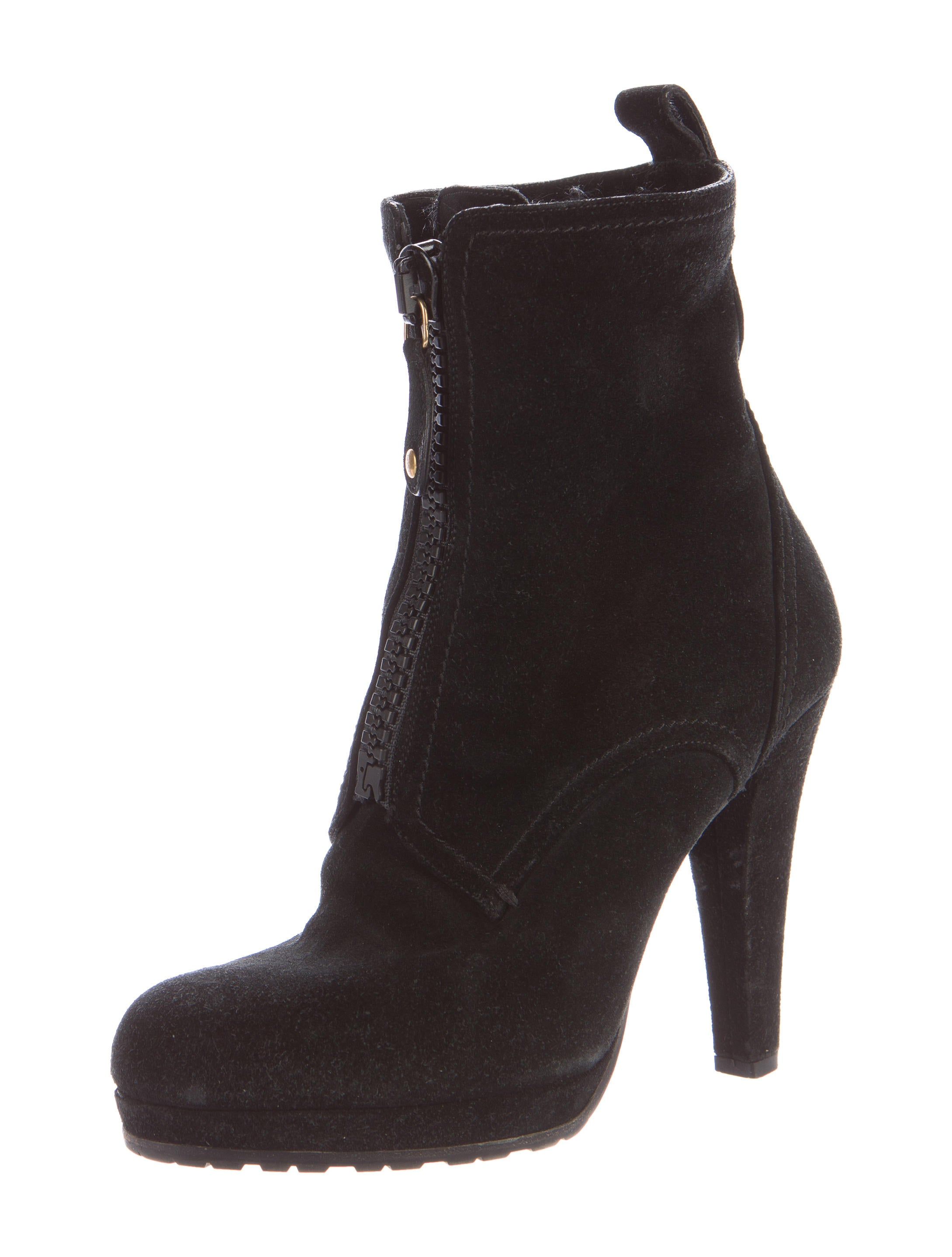 gucci suede platform ankle boots shoes guc132928 the