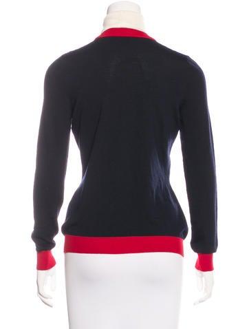 Fall 2016 Wool Appliqué Sweater