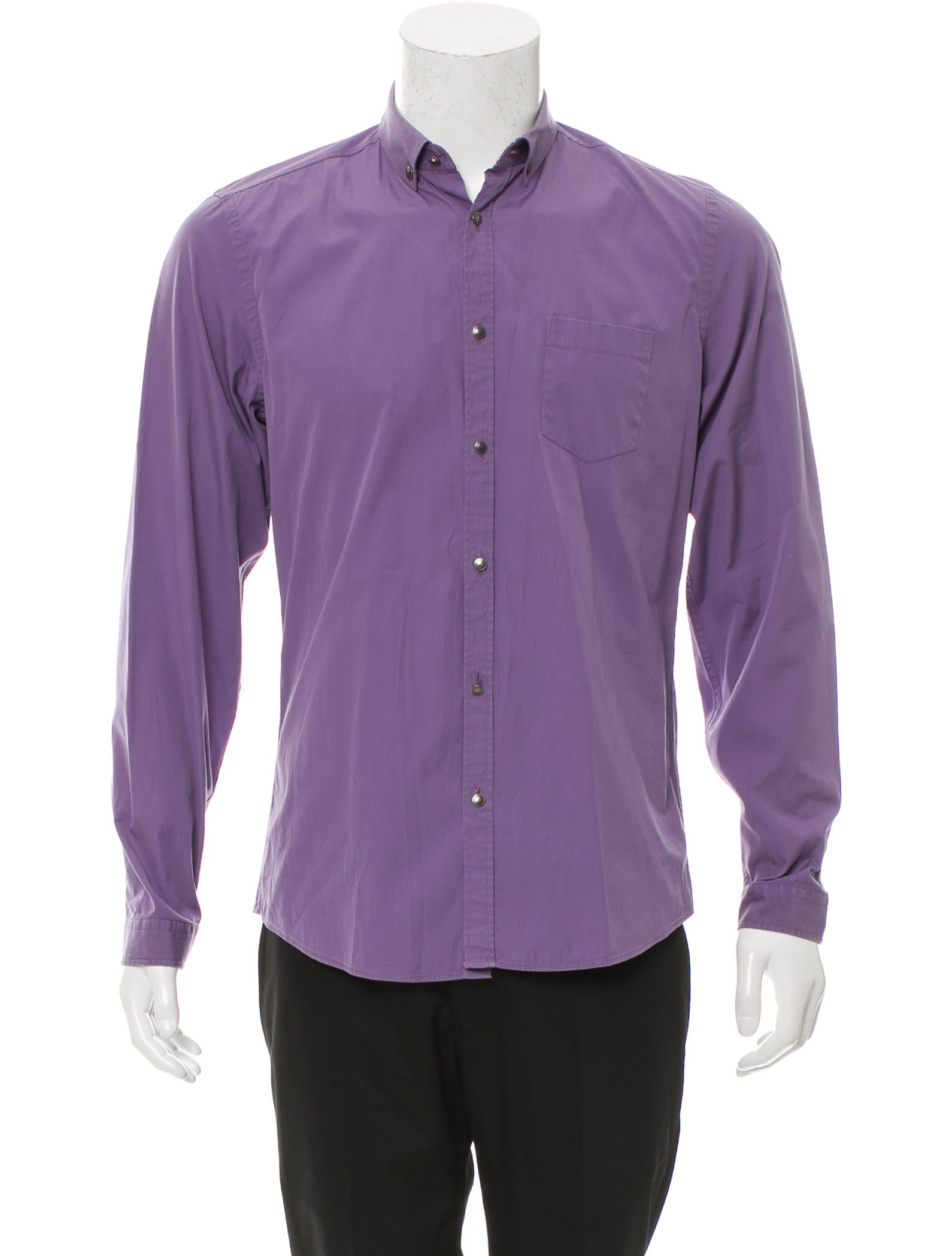 gucci slim fit button up shirt clothing guc133277