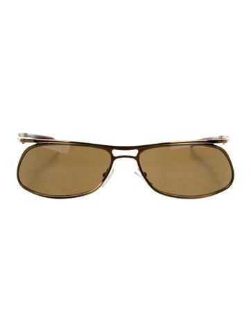 Gucci Shield Sunglasses  gucci sunglasses the realreal