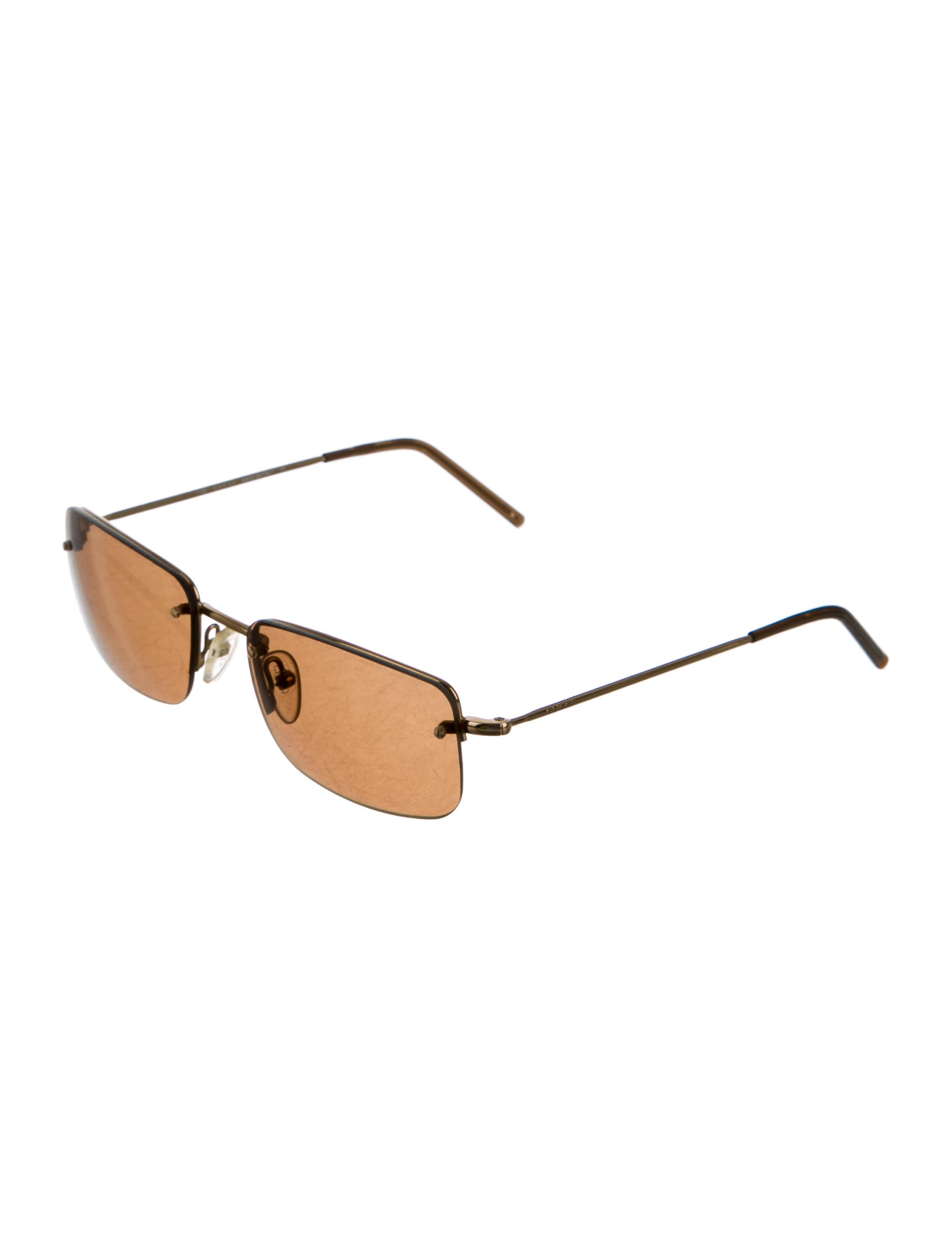 Gucci Tinted Rimless Sunglasses - Accessories - GUC133560 ...