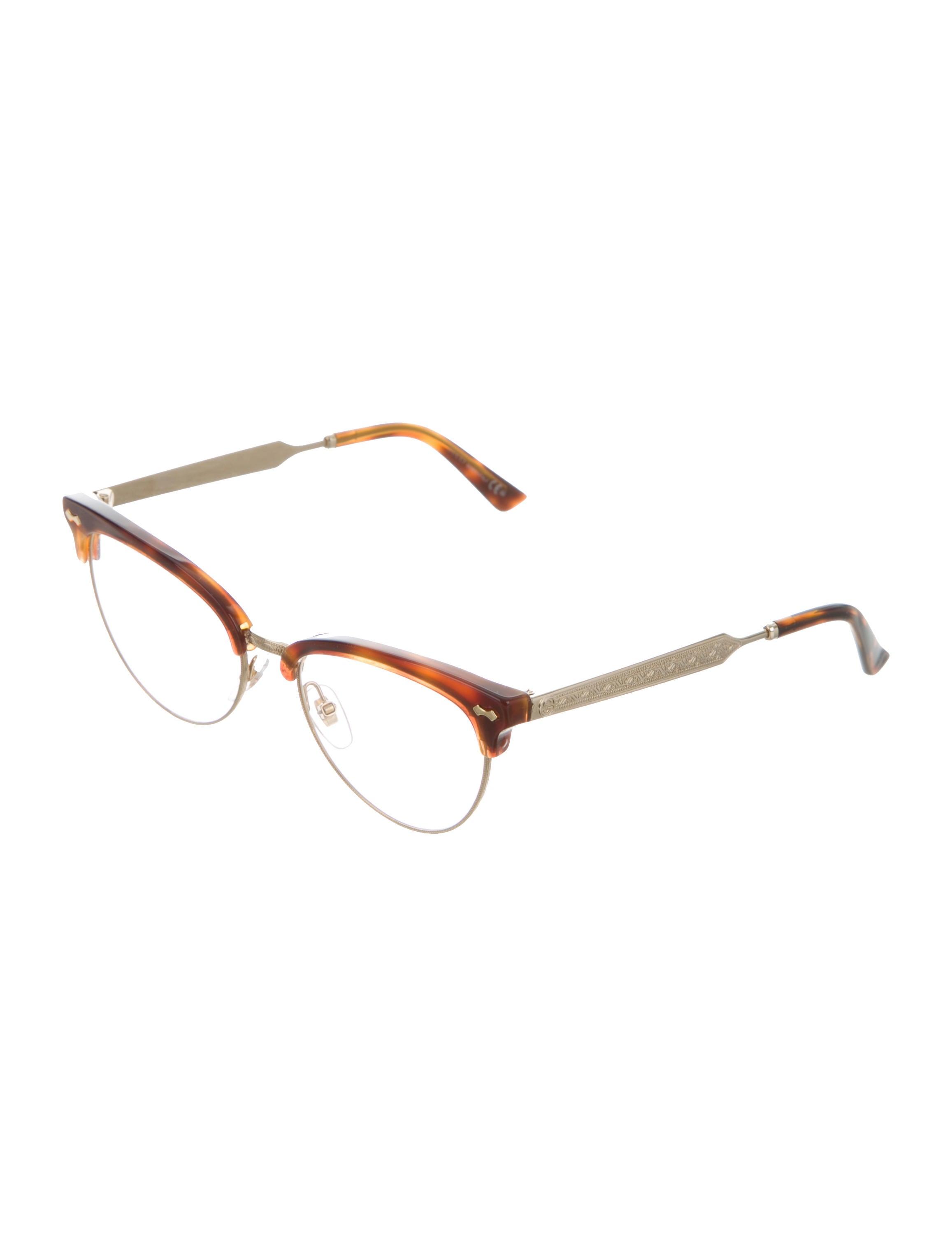 Gucci Tortoiseshell Cat-Eye Eyeglasses - Accessories ...