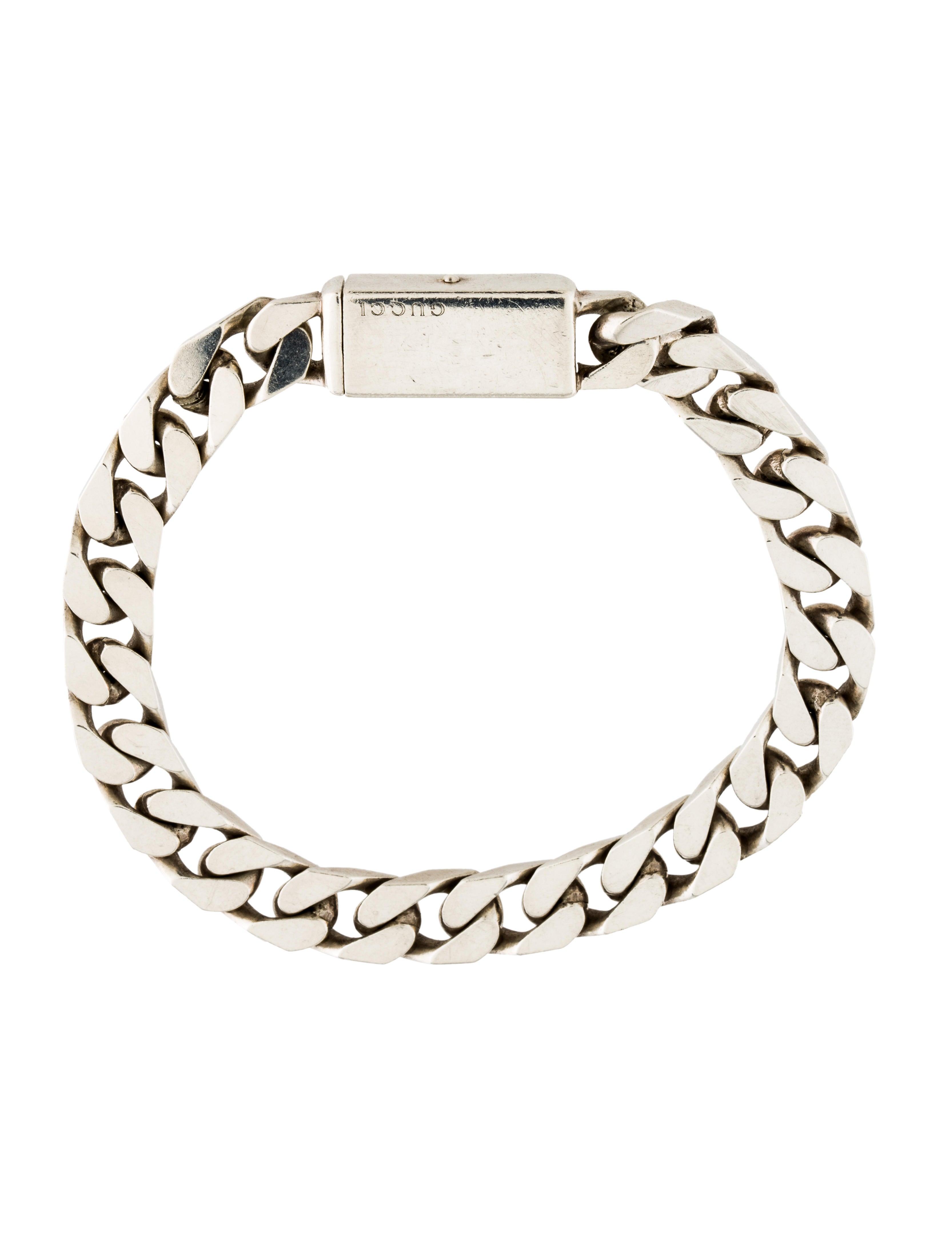 Gucci Curb Chain Bracelet