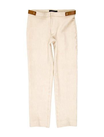 Gucci Wool & Cashmere-Blend Pants None