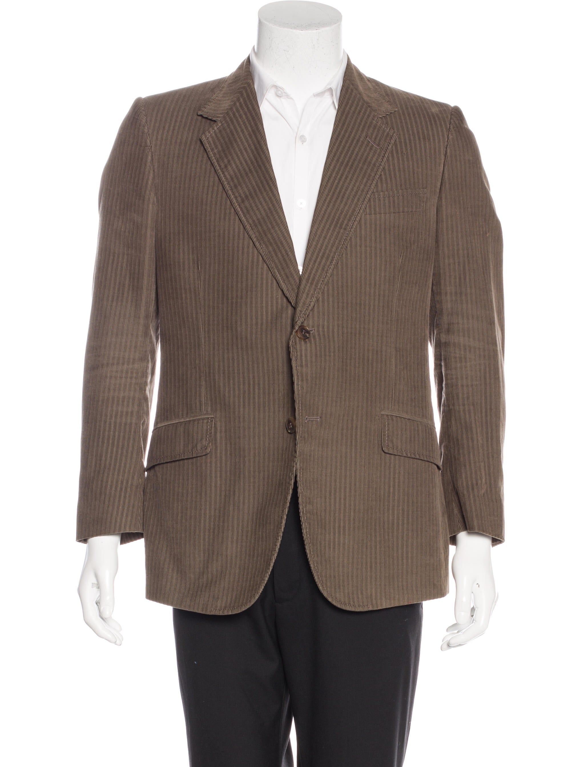 Gucci Corduroy Sport Coat - Clothing - GUC134614 | The RealReal