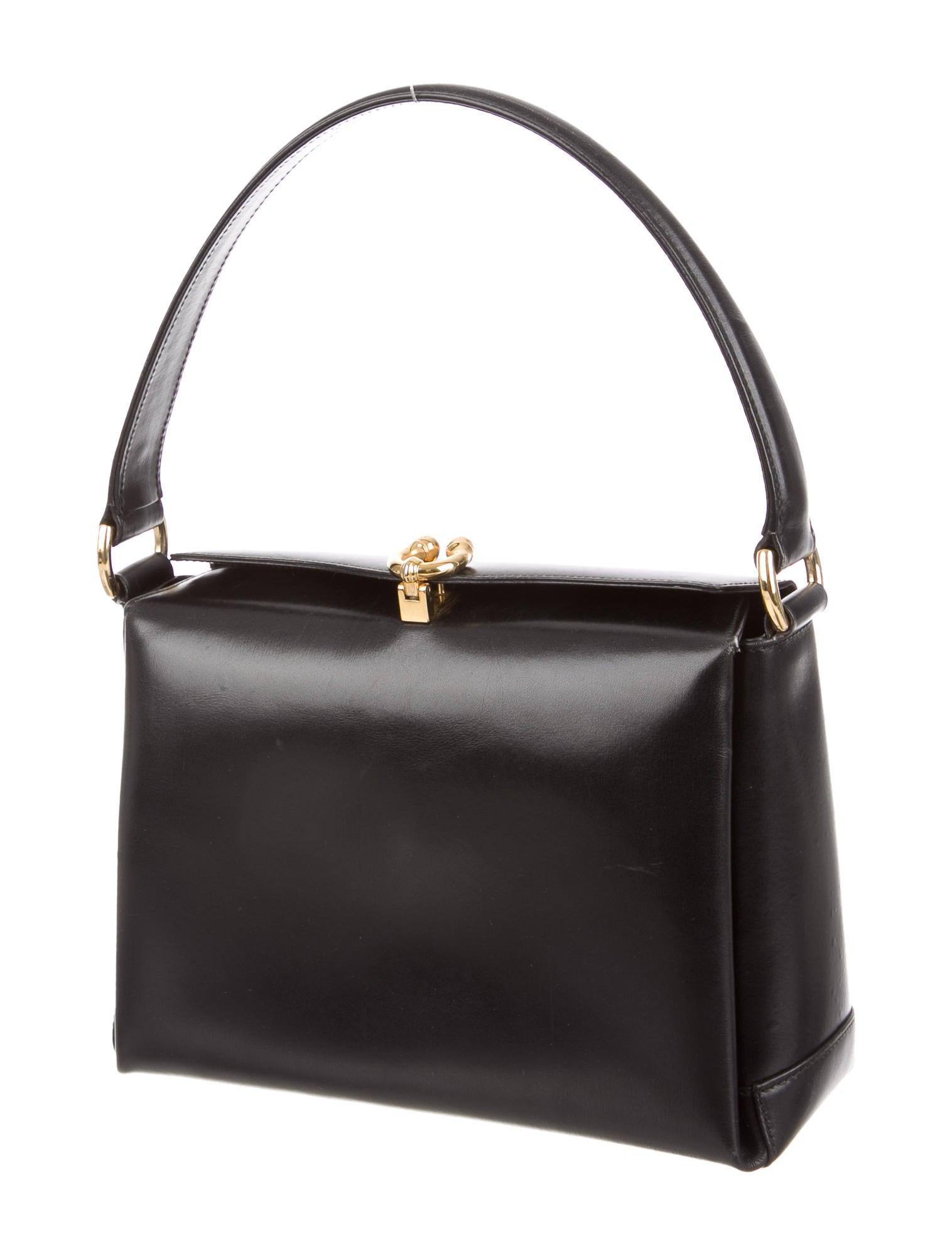Gucci Vintage Handle Bag - Handbags