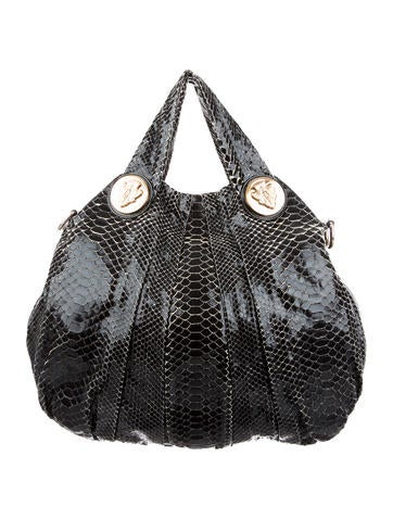 48c9fde32457 Gucci Python Hysteria Bag - Handbags - GUC134911 | The RealReal