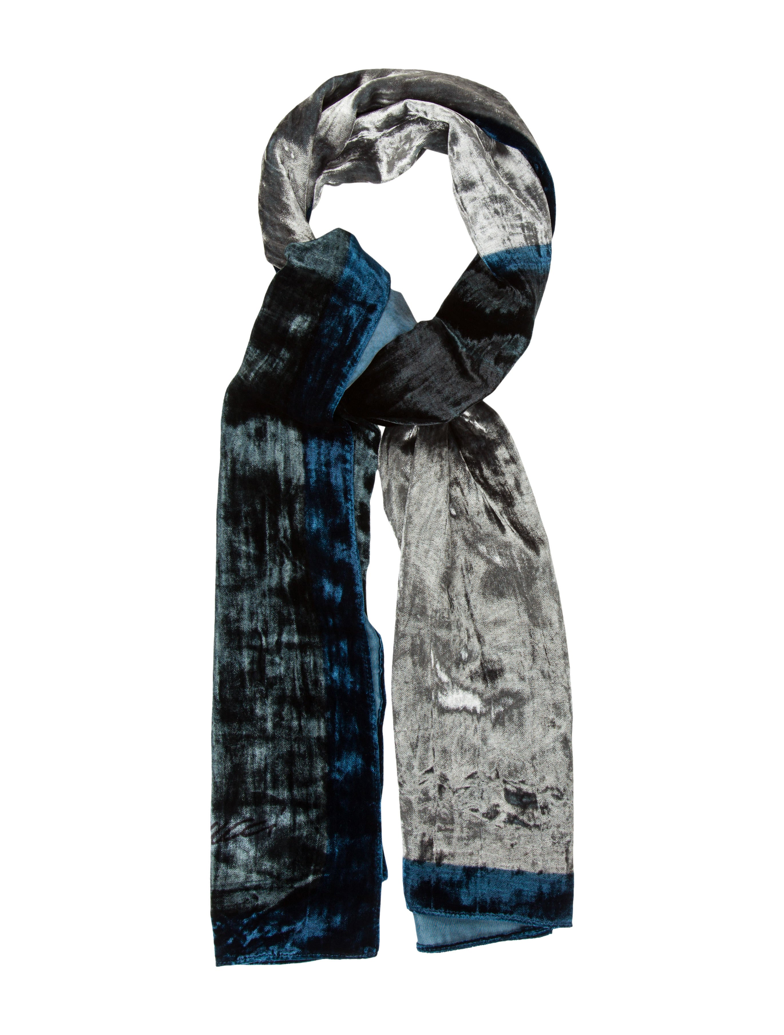 gucci velvet colorblock scarf accessories guc135085