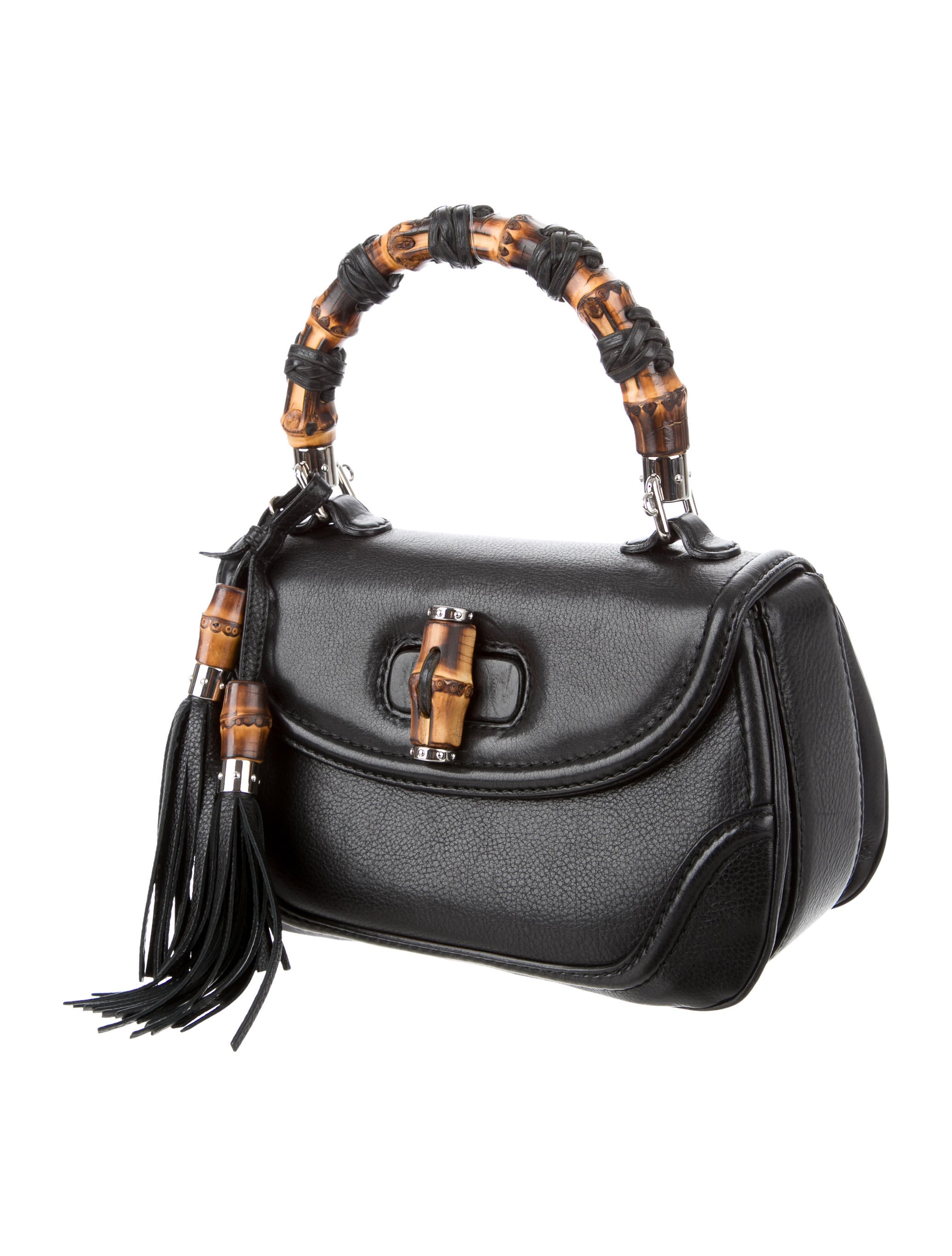 Gucci Small New Bamboo Handle Bag Handbags Guc135188