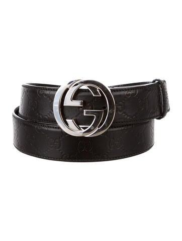 e61d2d4ad Gucci Interlocking G Belt Mens Black - Ontario Active School Travel
