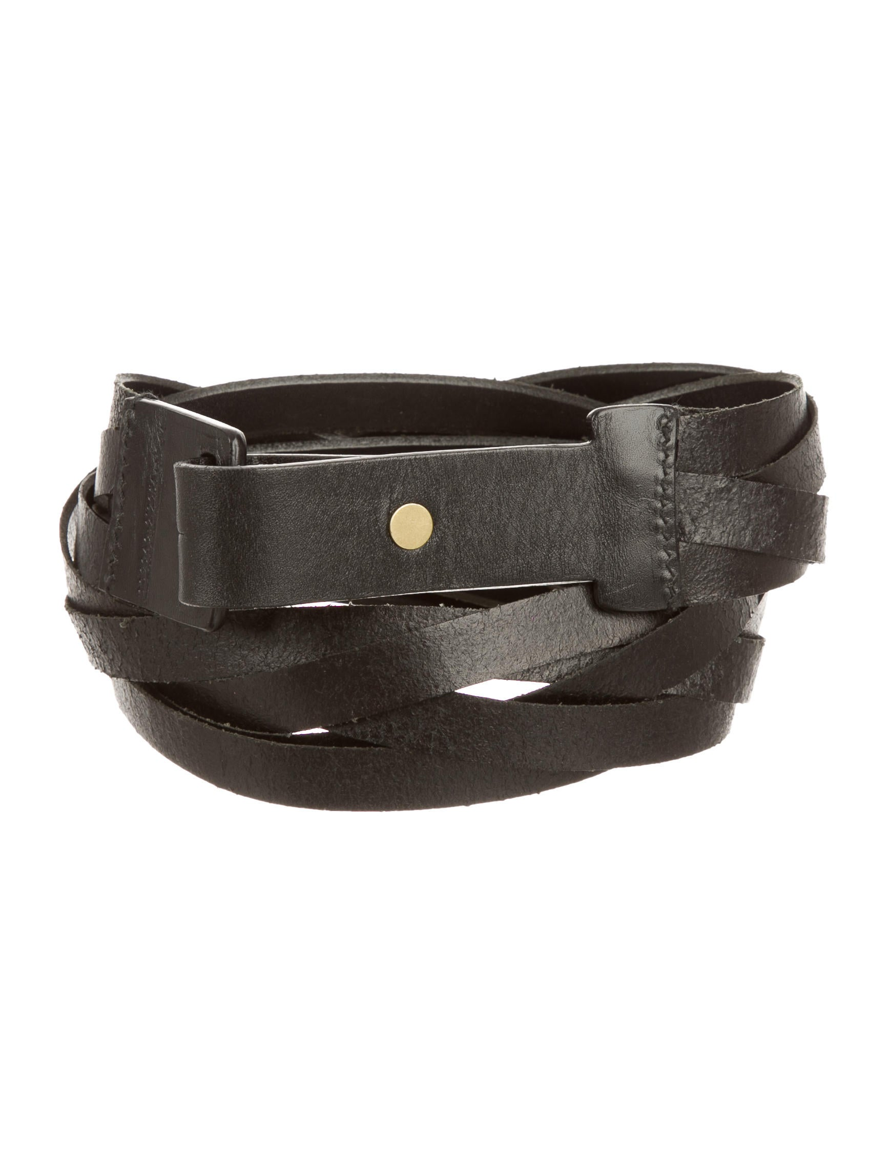 gucci woven leather belt accessories guc135536 the