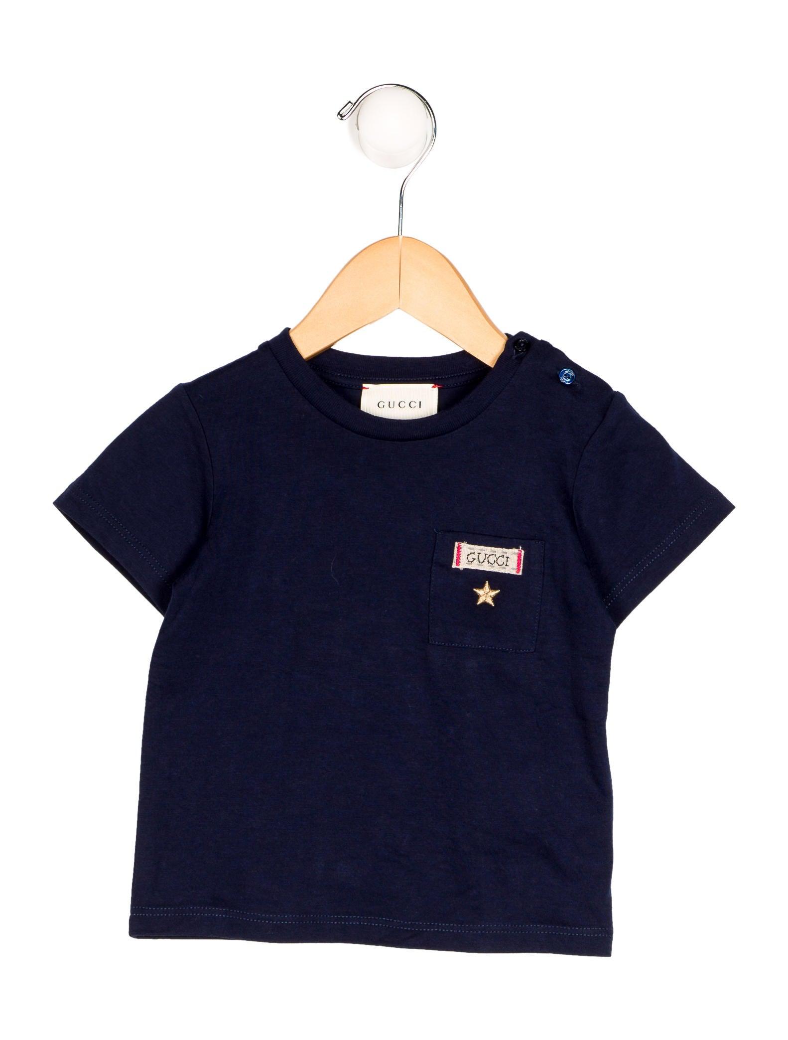 Gucci boys 39 logo pocket t shirt w tags boys guc136089 for Boys pocket t shirt
