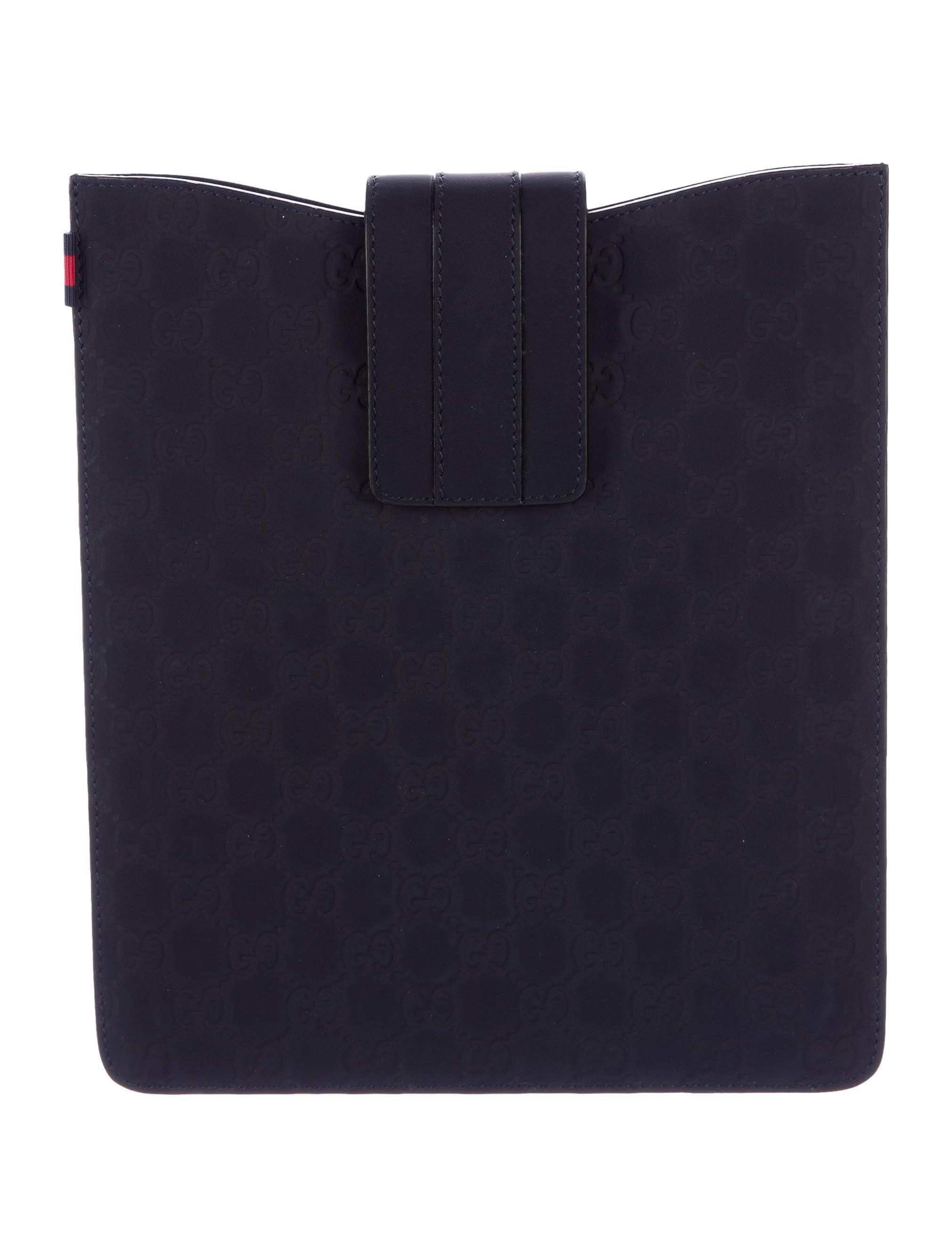 0d13978203a Gucci Guccissima Matte iPad Case w  Tags - Technology - GUC136167 ...