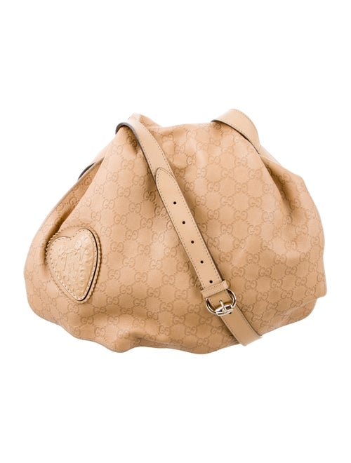 31a25f98f694 Gucci Guccissima Tribeca Messenger Bag - Handbags - GUC136337 | The ...