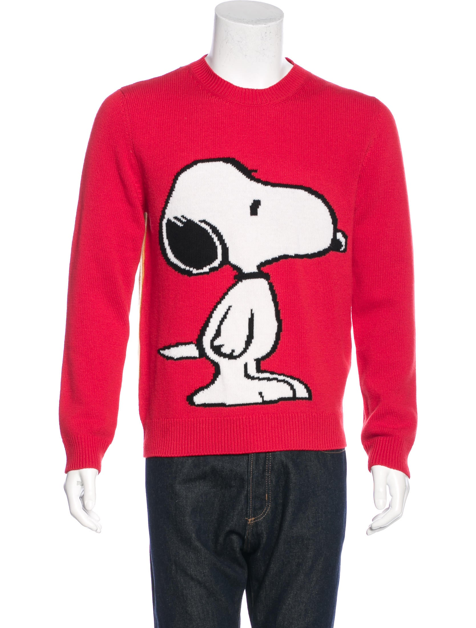 bb8090a2259 Gucci 2016 Wool Snoopy Sweater w  Tags - Clothing - GUC136398