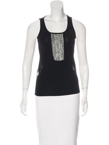 Gucci Lace Sleeveless Top None
