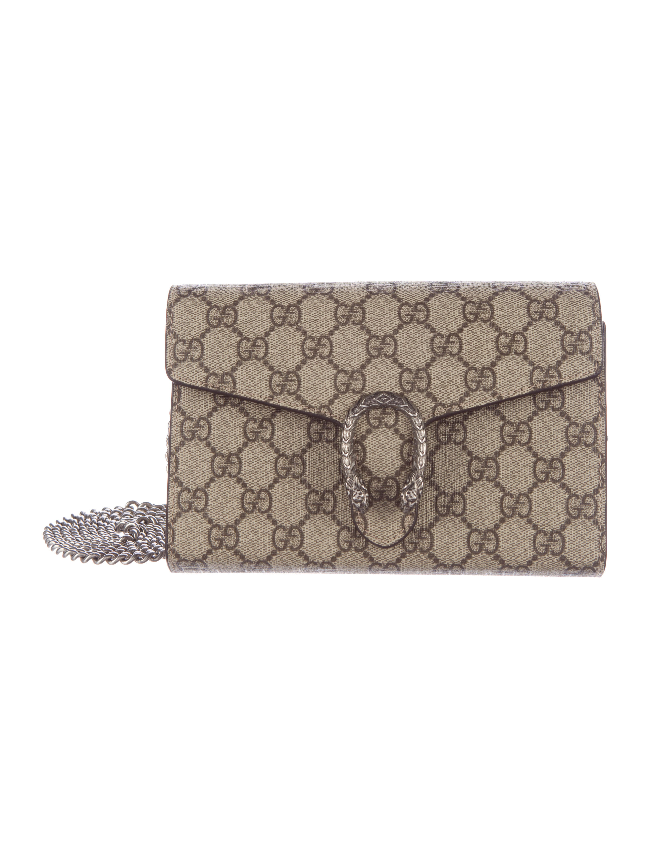 4933ddbe8477 Gucci Dionysus Gg Supreme Chain Wallet ราคา | Stanford Center for ...
