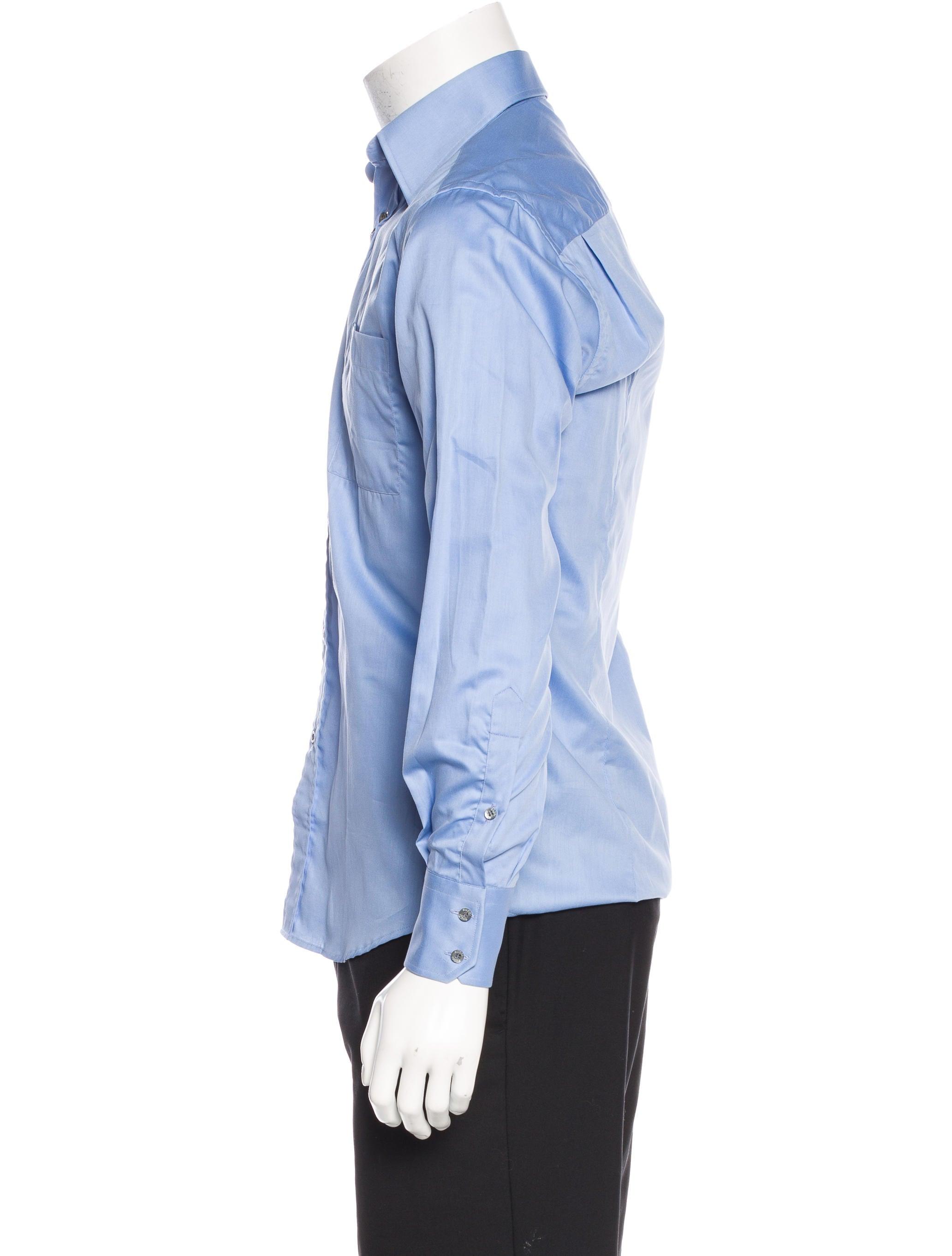 Gucci woven dress shirt w tags clothing guc136991 Woven t shirt tags