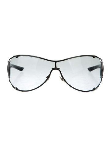 899cd90cf956 Gucci Horsebit Shield Sunglasses