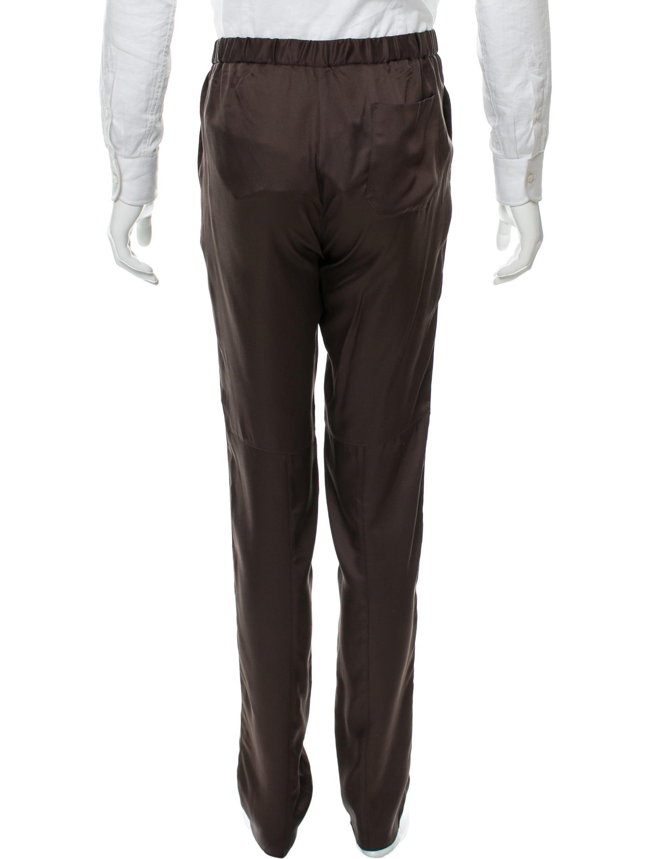 Gucci Silk Satin Pants W Tags Clothing Guc137147
