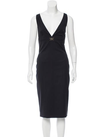 Gucci Wool Sheath Dress None