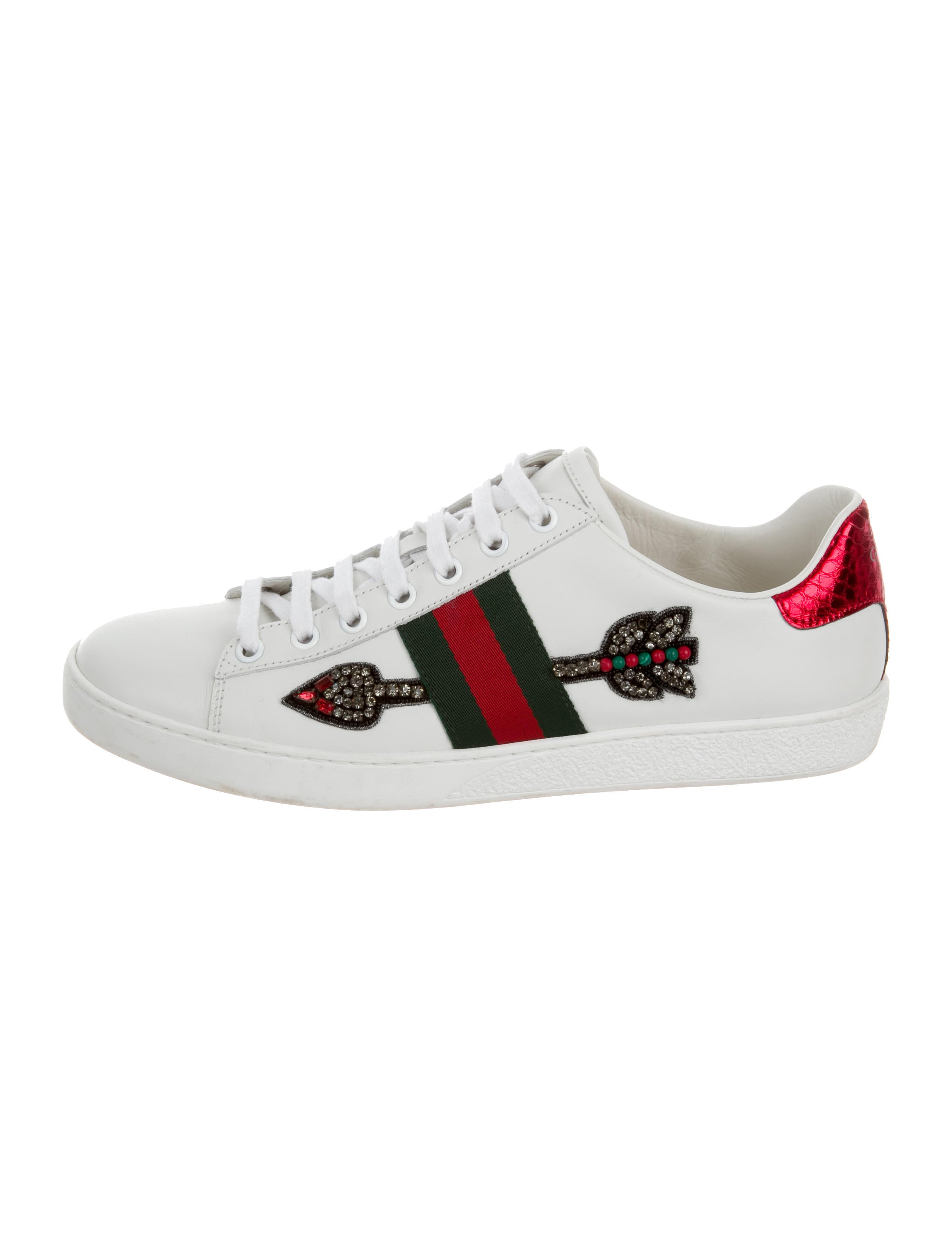Gucci 2017 Ace Arrow Sneakers - Shoes