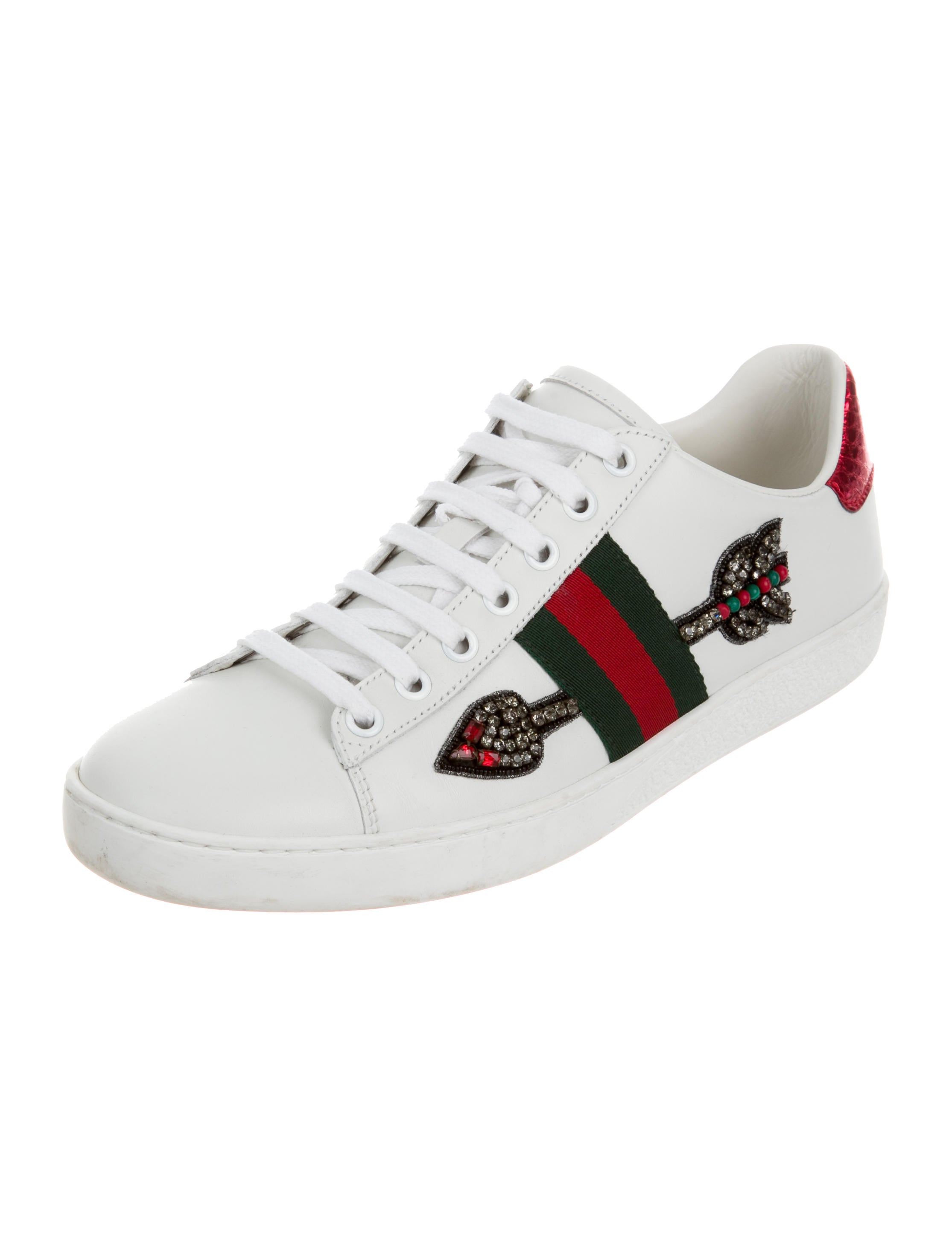 gucci 2017 ace arrow sneakers shoes guc137652 the. Black Bedroom Furniture Sets. Home Design Ideas