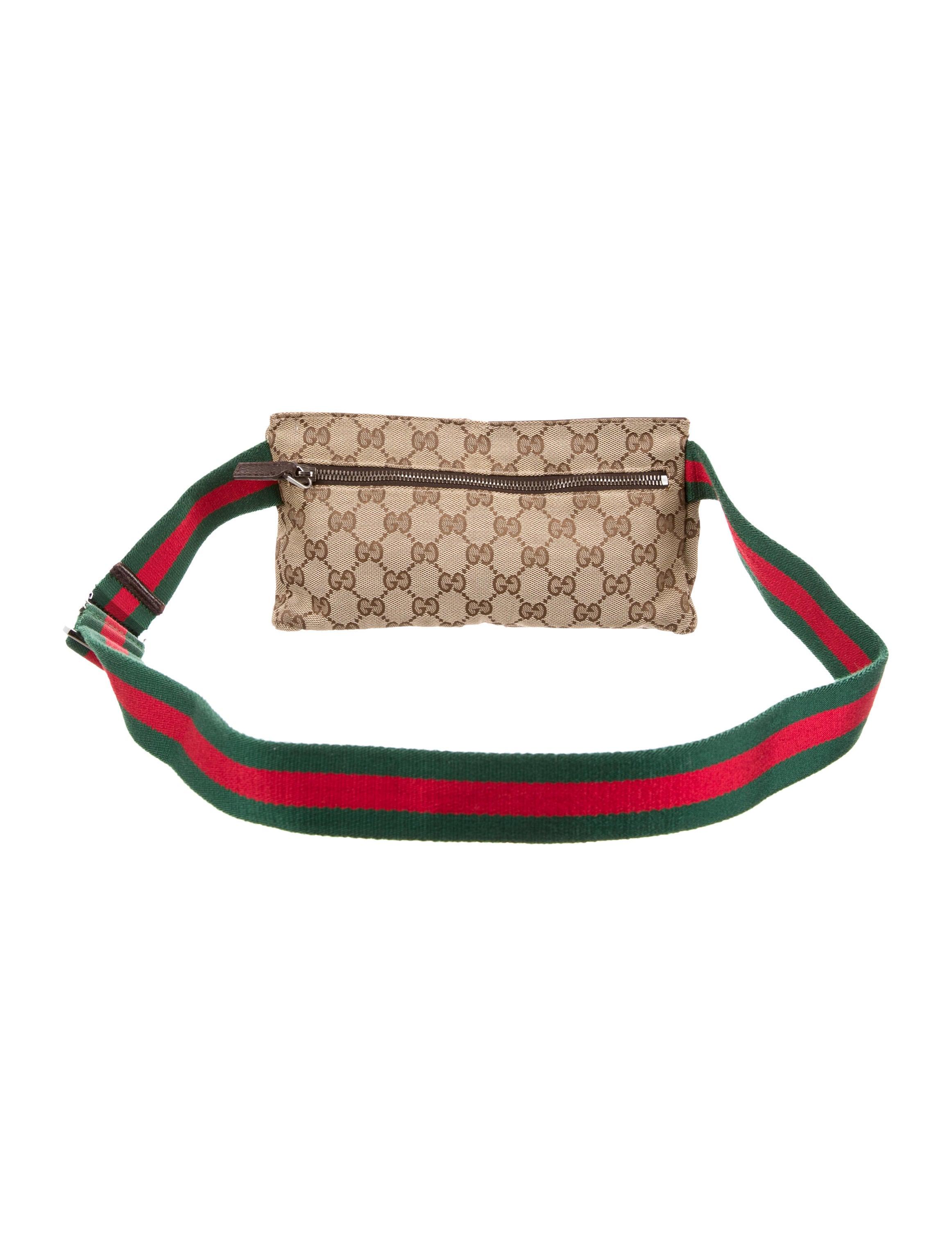 Gucci GG Canvas Small Belt Bag - Handbags