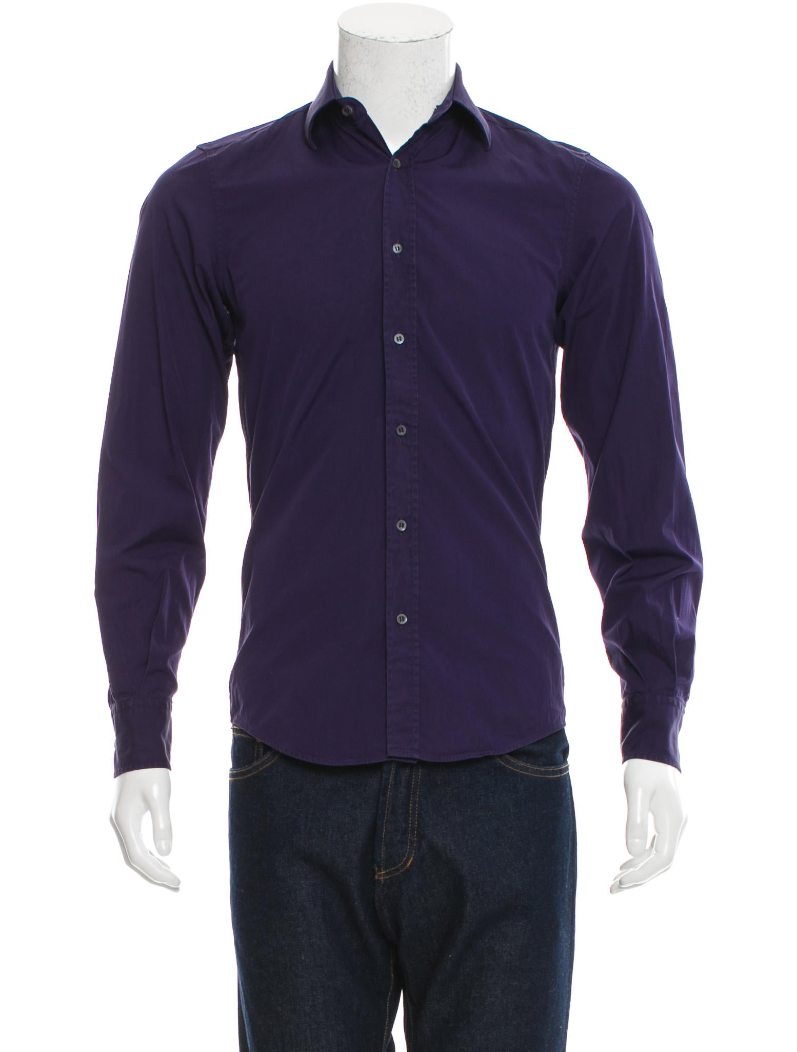 Gucci fitted button up shirt clothing guc137822 the for Fitted button up shirts mens