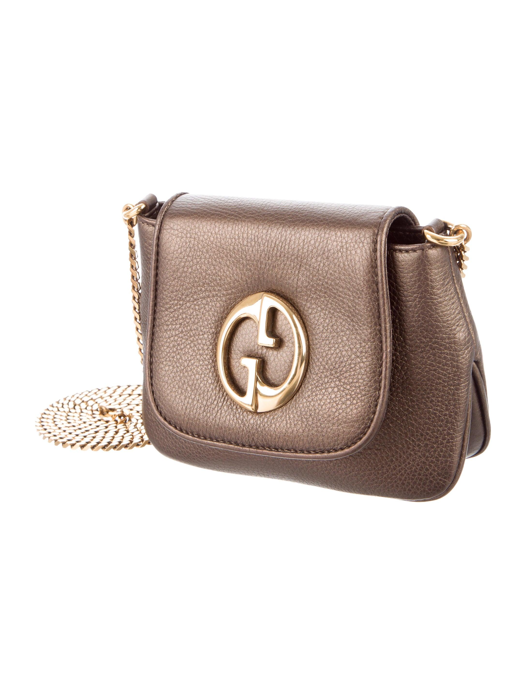 Gucci 1973 Small Crossbody Bag Handbags GUC137912  : GUC1379123enlarged from www.therealreal.com size 2175 x 2869 jpeg 489kB