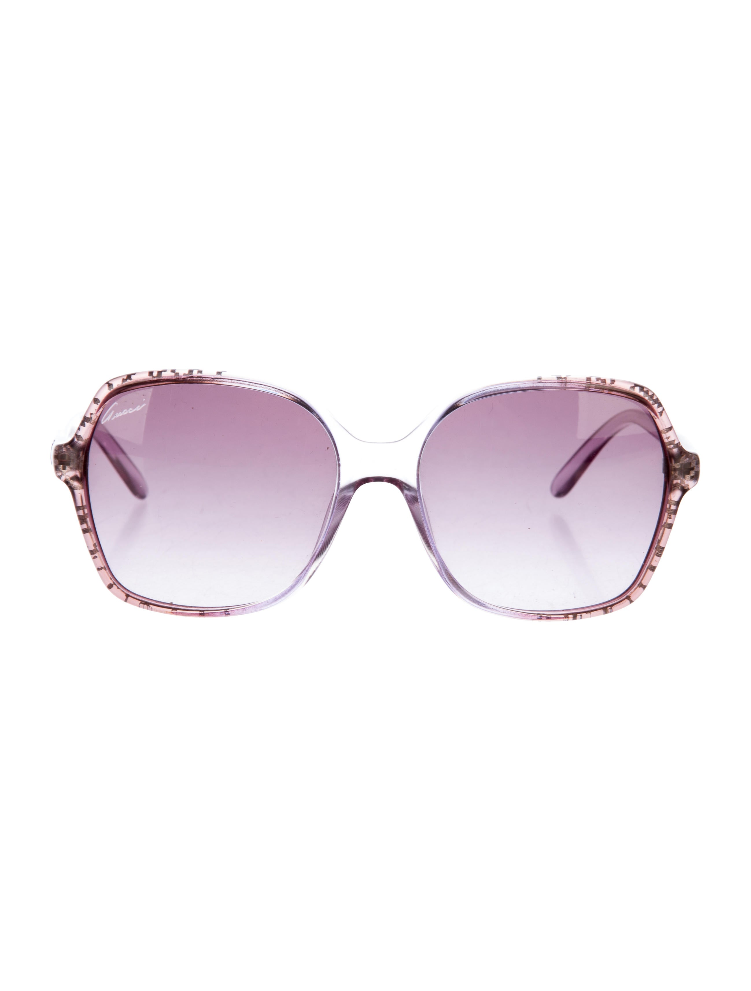 21d93e7b06053 Gucci Gradient Butterfly Sunglasses - Accessories - GUC138084