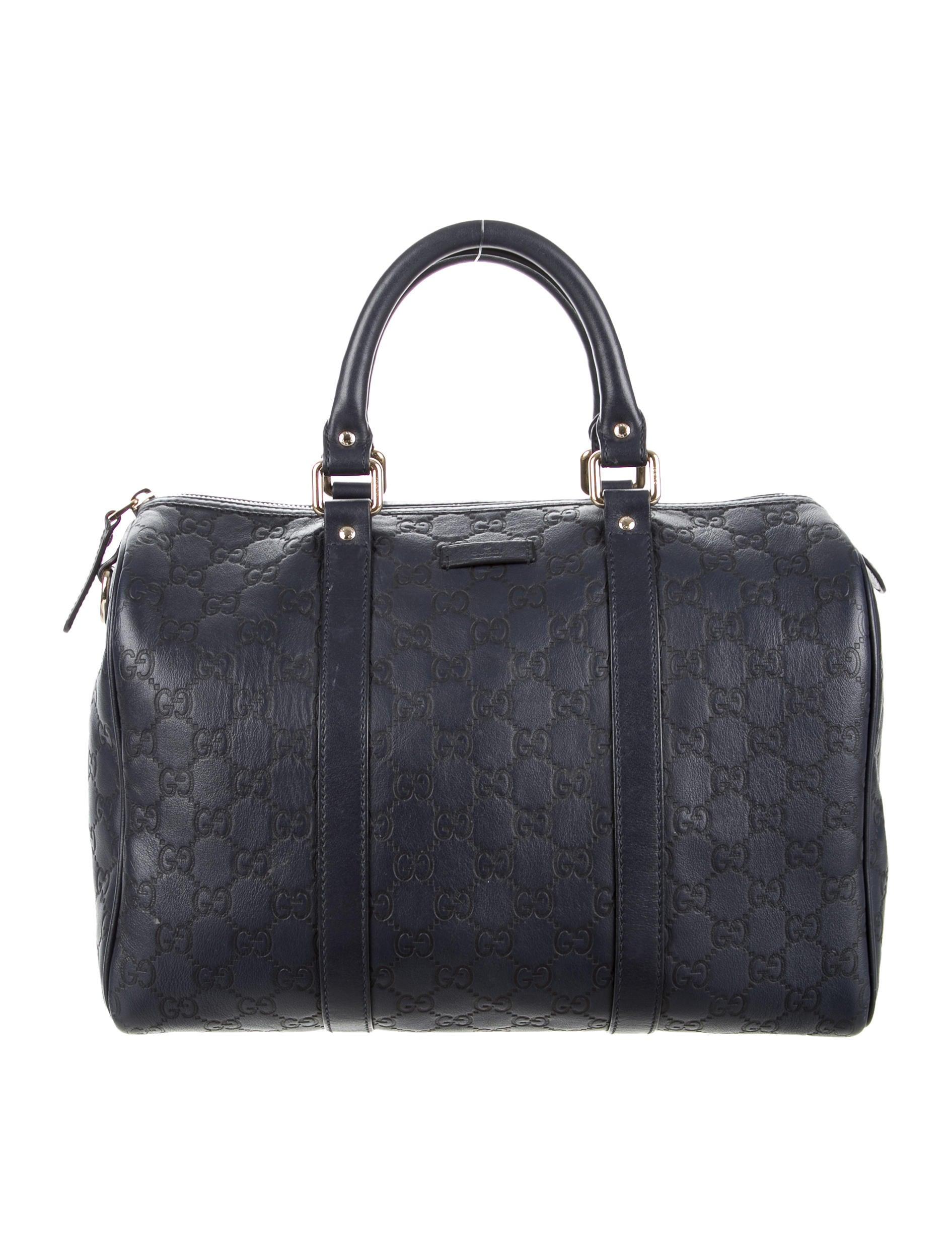 Boston Bag Patchwork Tutorial: Gucci Guccissima Joy Boston Bag