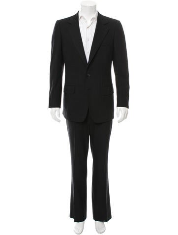 Gucci Wool Three-Button Suit None