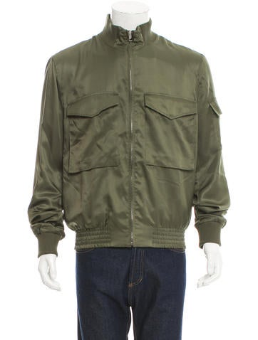 Gucci Silk Bomber Jacket w/ Tags None