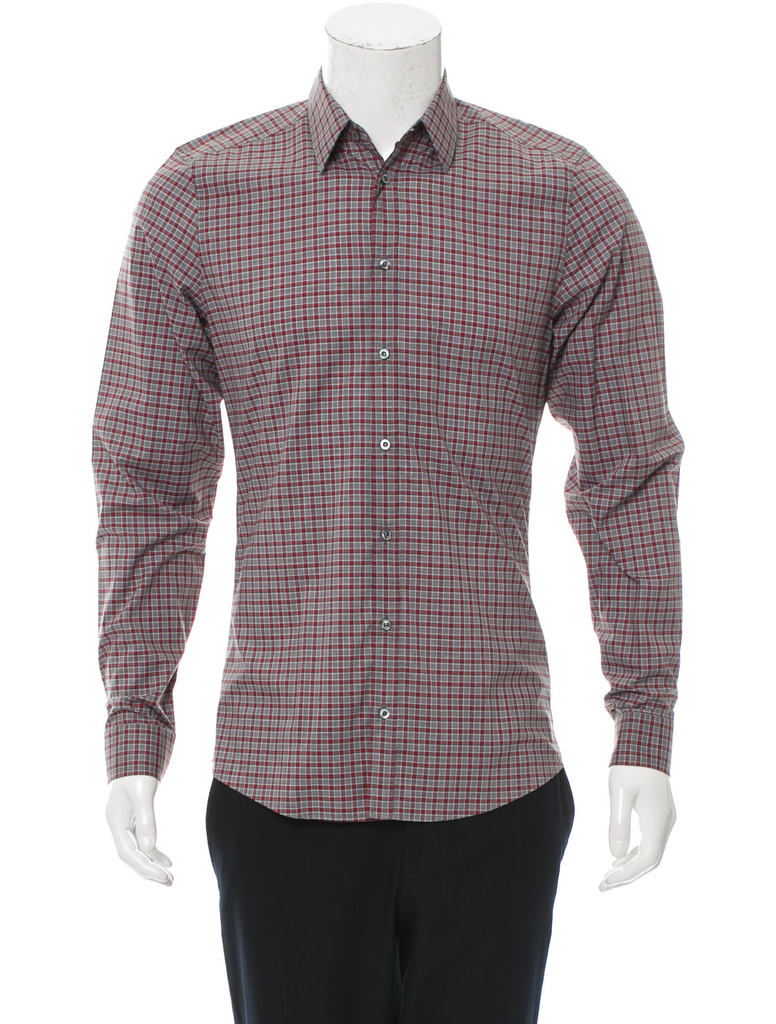 gucci slim fit button up shirt w tags clothing