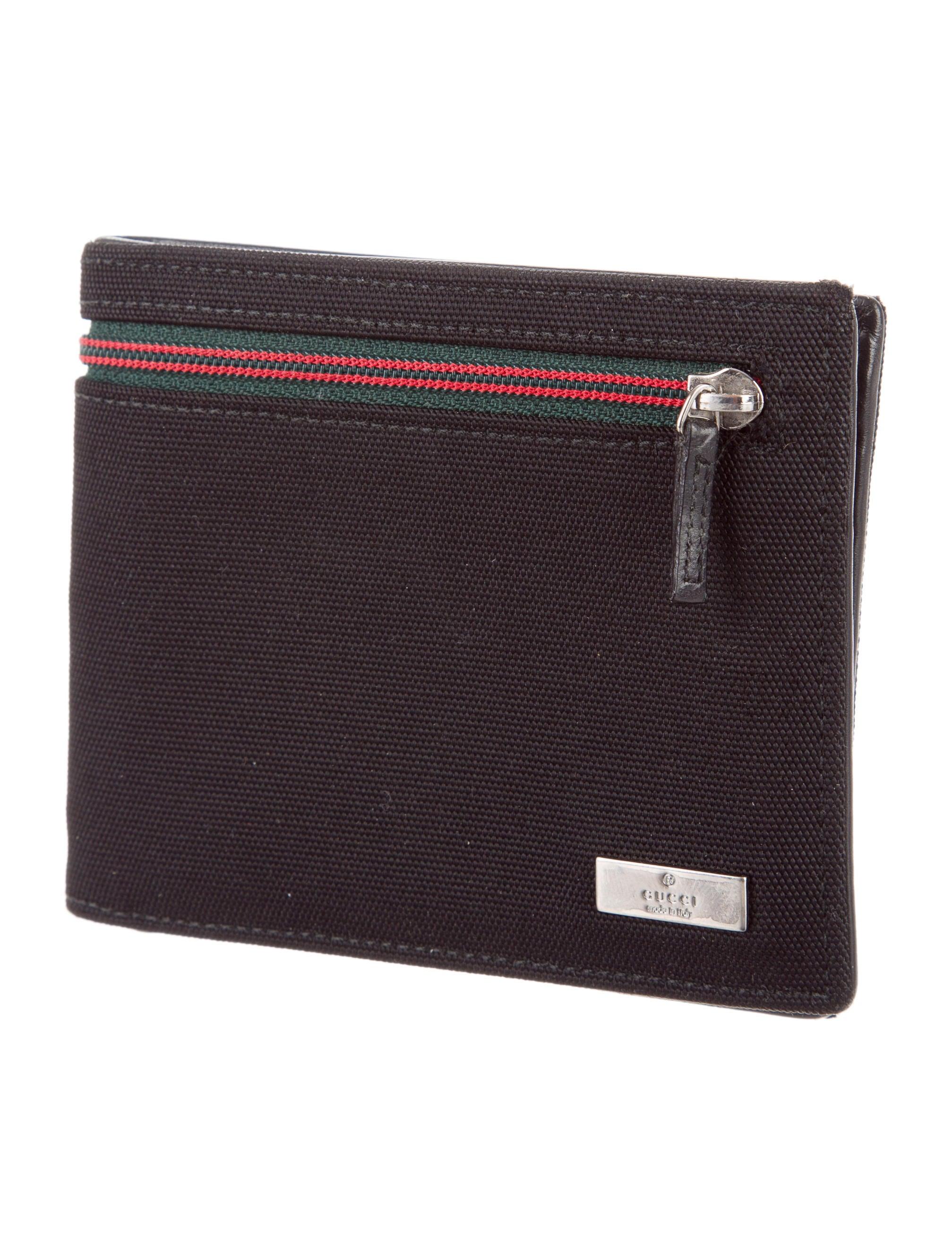 Black Nylon Wallet 46