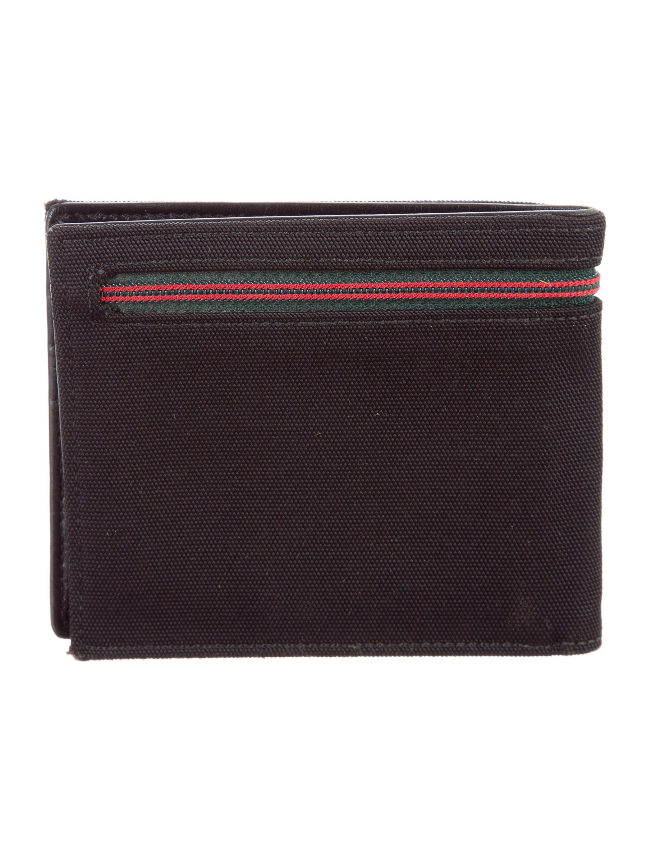 Black Nylon Wallet 65