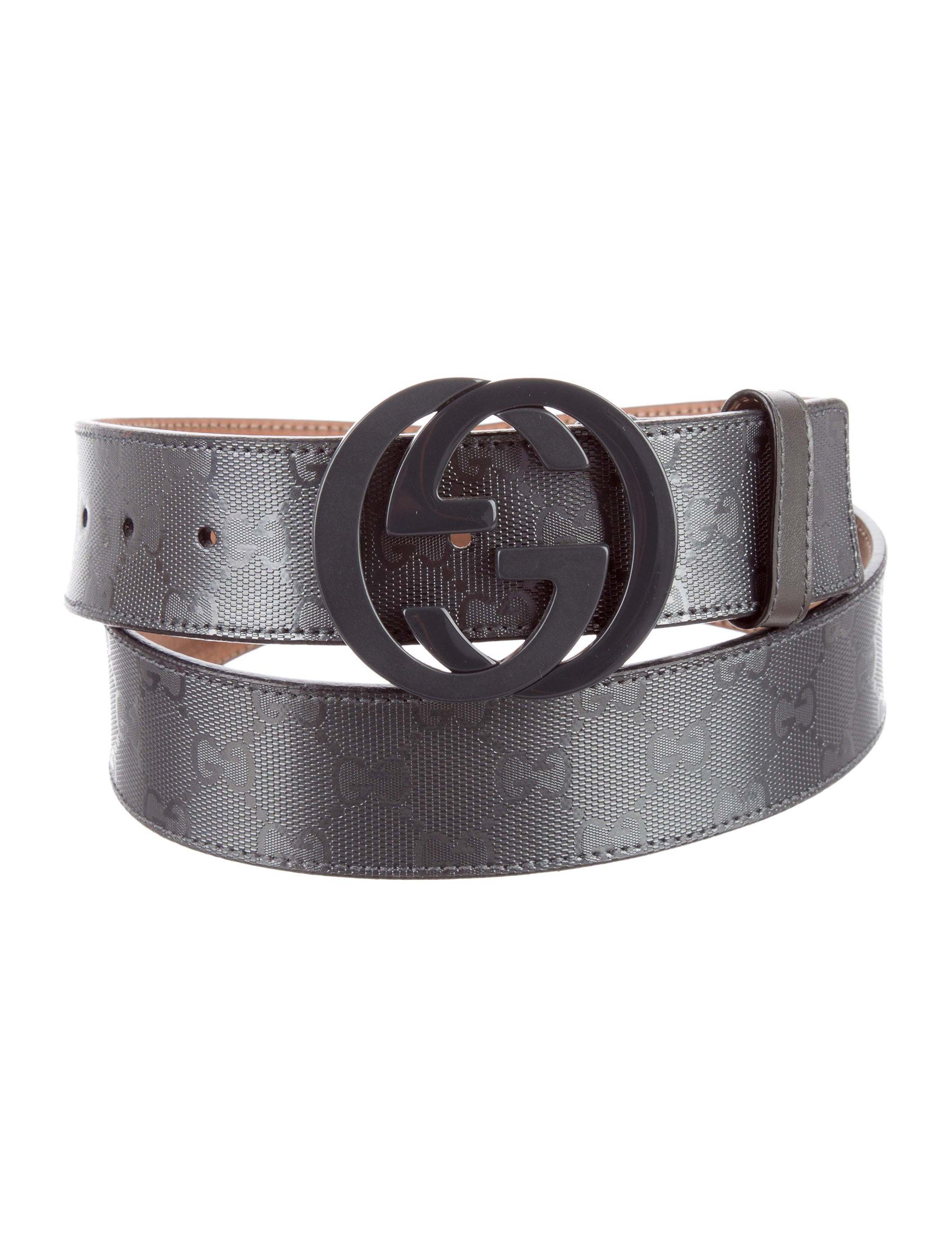 91e14b422ae Gucci GG Imprimé Belt - Accessories - GUC139353