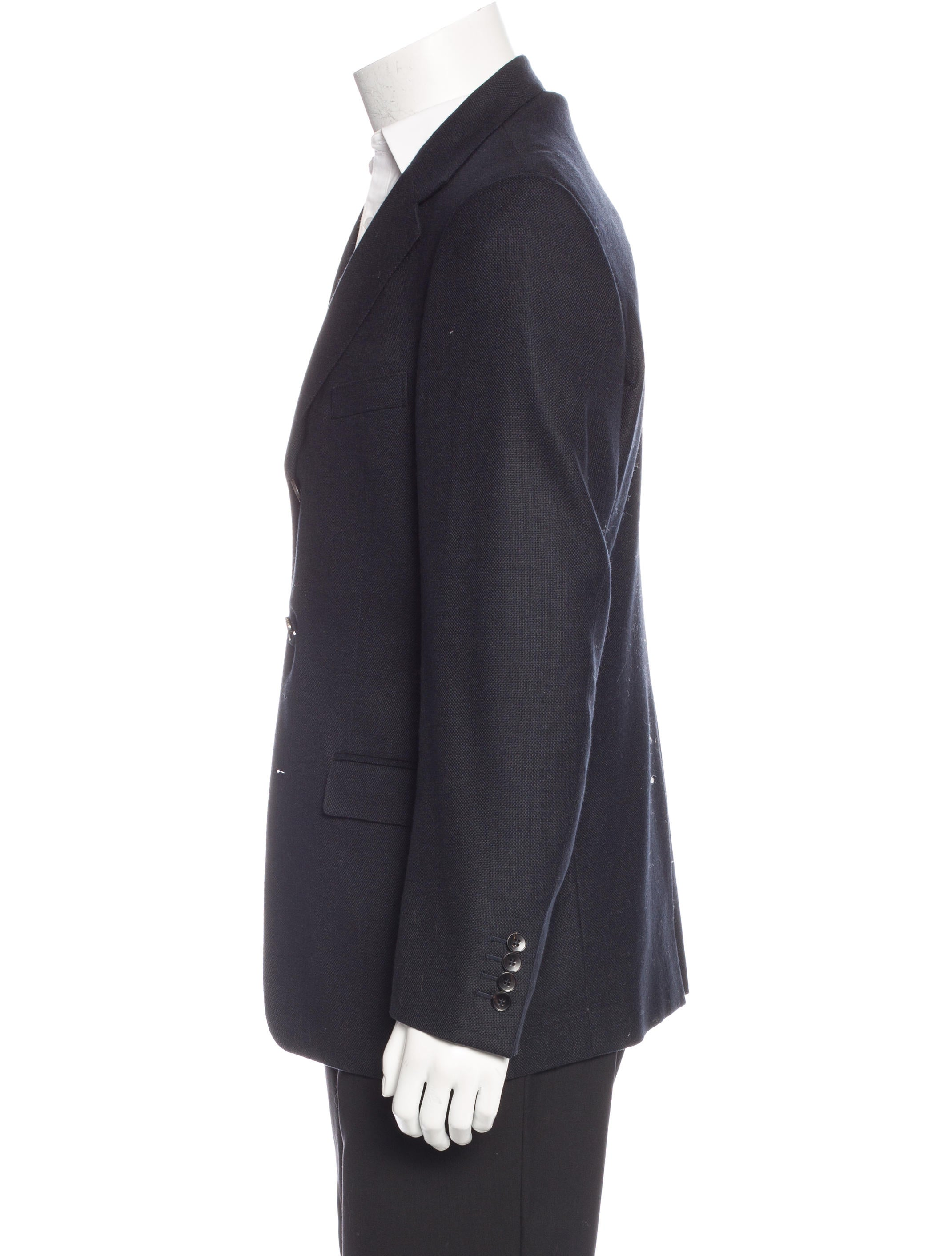 Gucci Wool-Blend Sport Coat - Clothing - GUC139902 | The RealReal