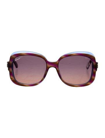 Gucci Marbled 1973 Sunglasses None