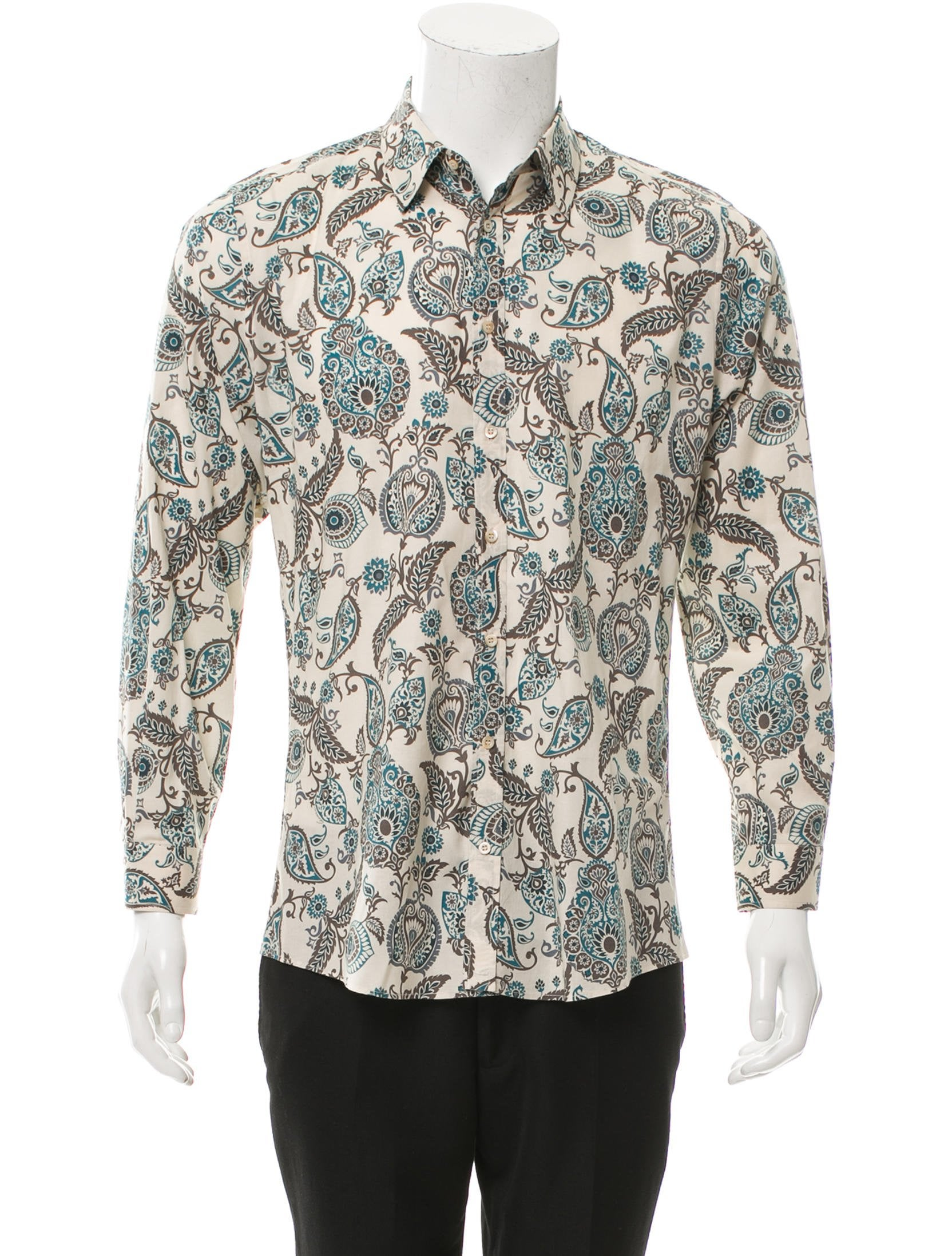 gucci slim fit button up shirt clothing guc140414