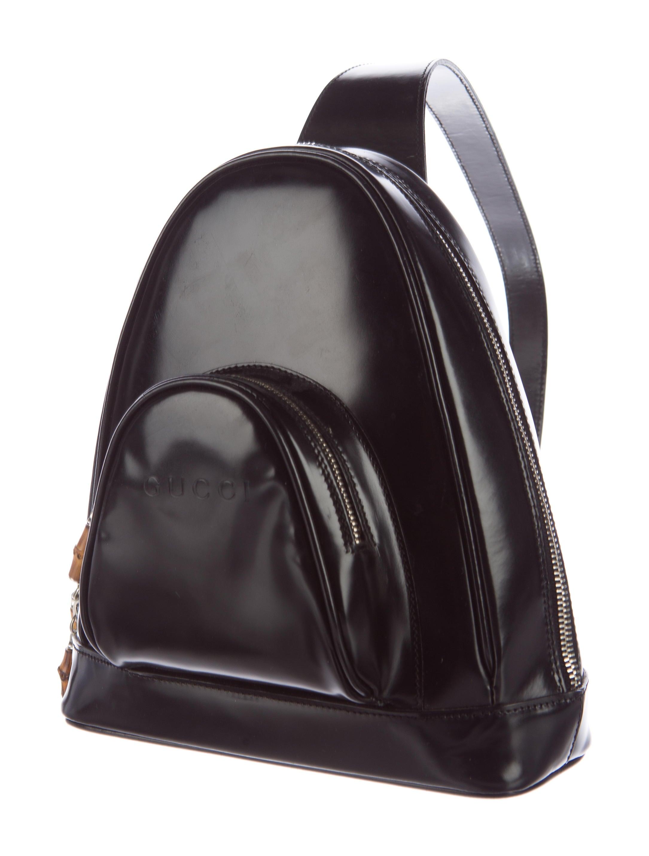 Cool Gucci Bamboo Sling Bag - Handbags - GUC136114 | The RealReal