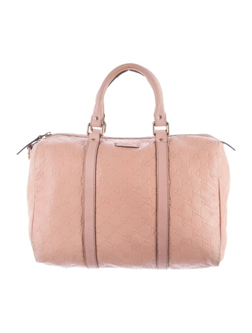 b4ad94acd1c6 Gucci Guccissima Joy Boston Bag - Handbags - GUC141648   The RealReal
